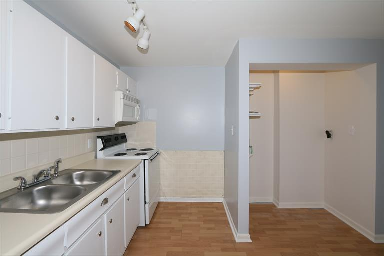 Kitchen and new laundry room