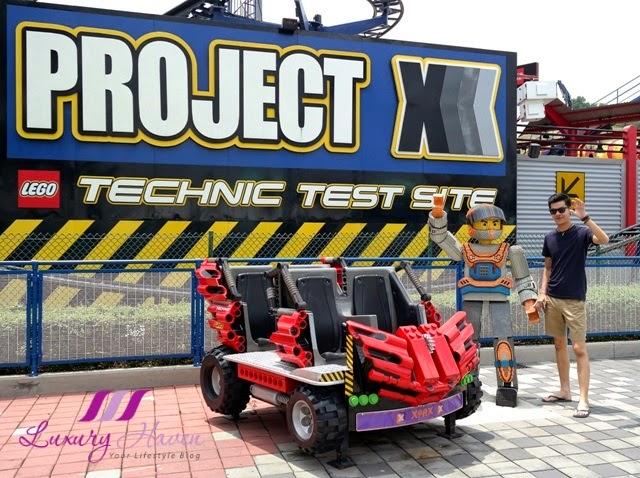 legoland theme park lego technic area roller coaster