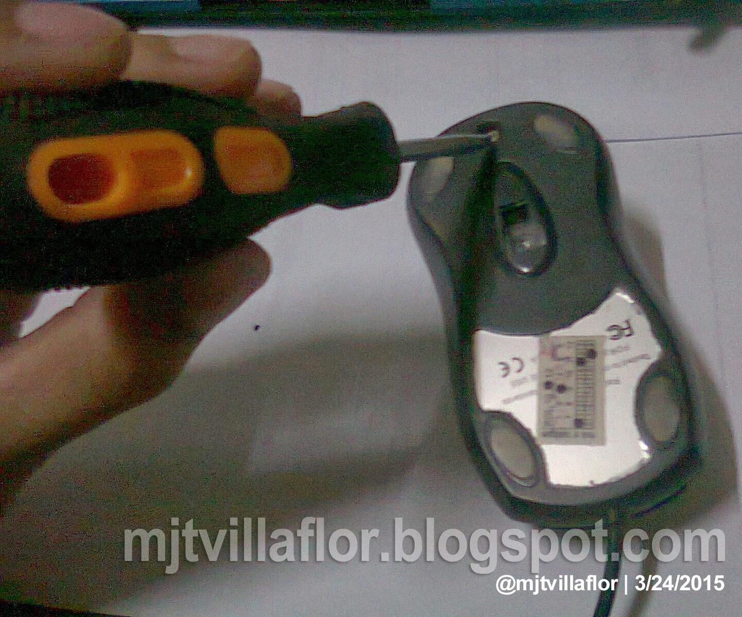 Troubleshooting: USB Mouse Wiring - @mjtvillaflor