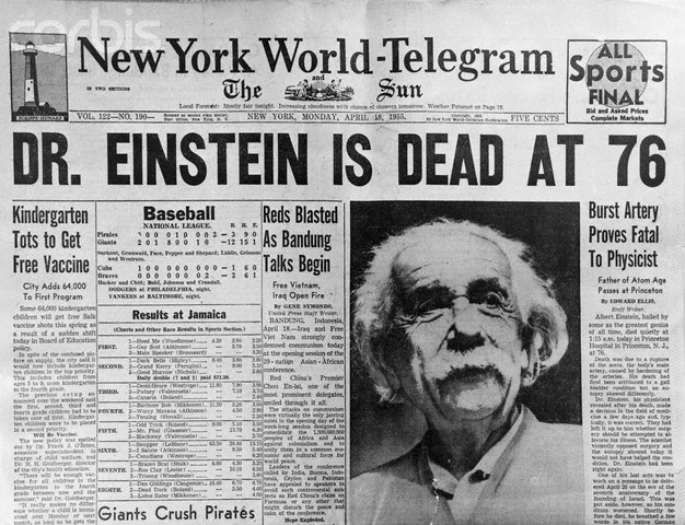 Timeline: The Incredible Life of Albert Einstein