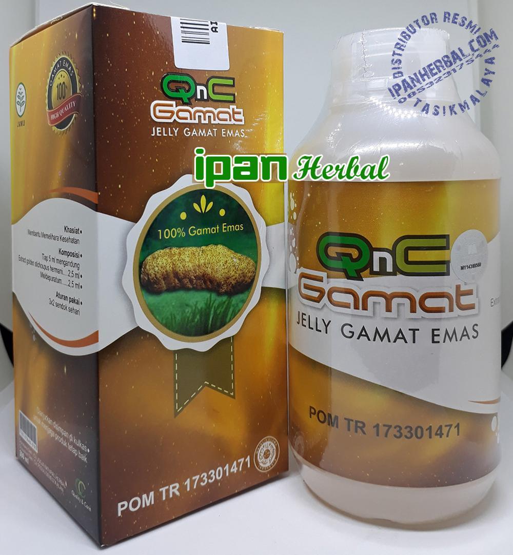 QnC Jelly Gamat Original: Pengobatan Miom Secara Alami