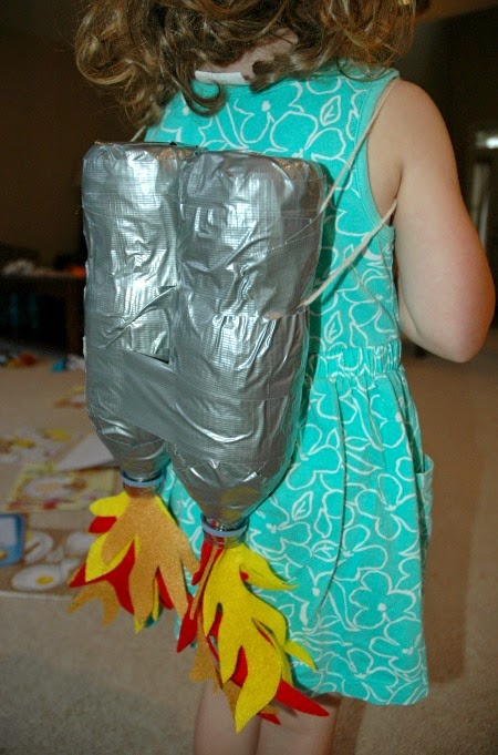 jet pack craft tutorial for kids