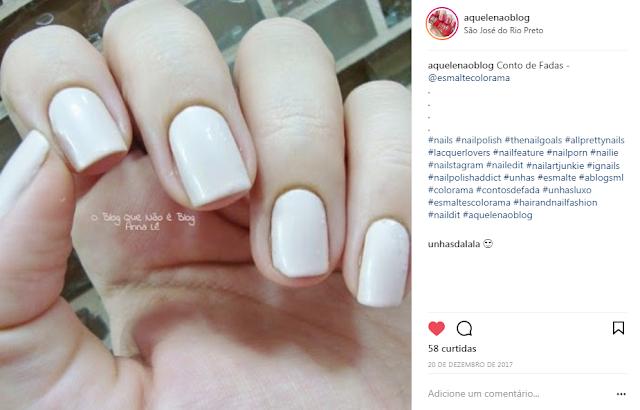 esmalte nailpolish unhas nails conto de fadas colorama