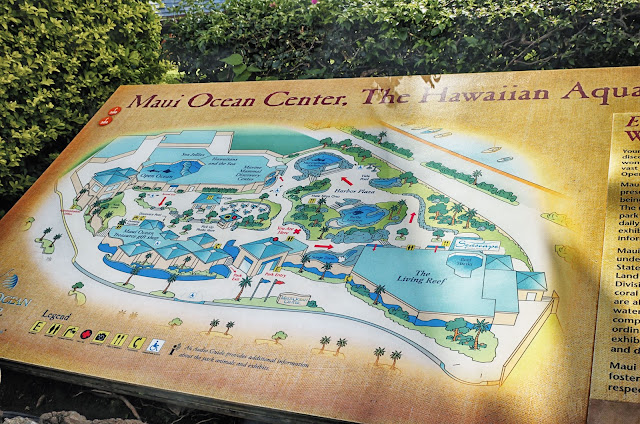 Maui Ocean Center Map