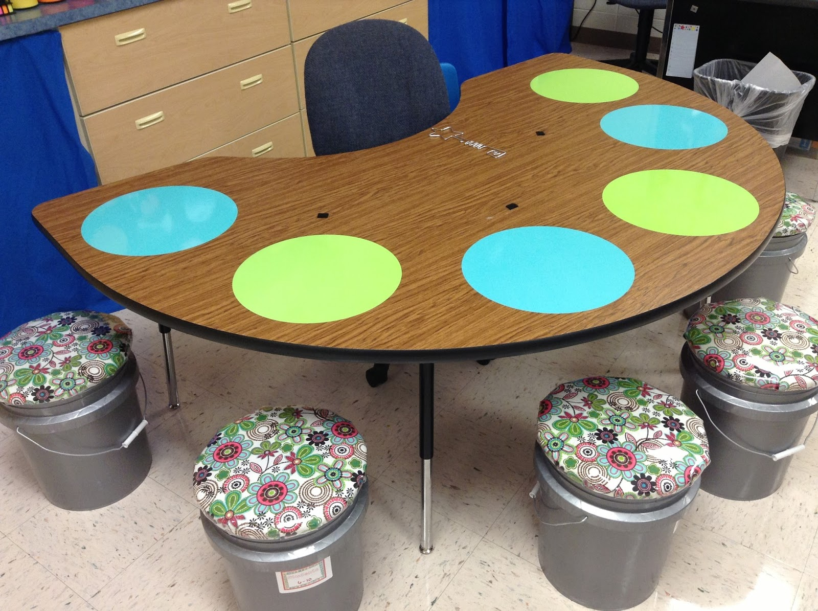 First Grade Fingerprints Guided Reading Table Upgrades