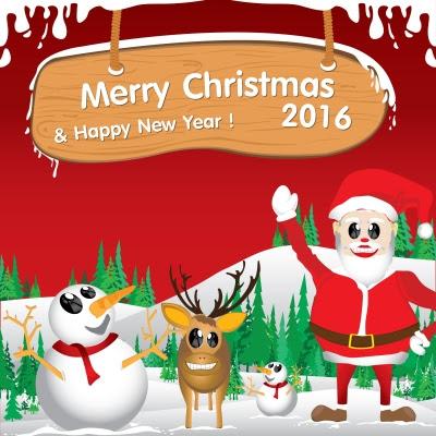 imagenes feliz navidad en ingles