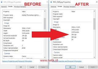 Cara merubah resolusi foto menjadi 300 dpi dengan mudah menggunakan photoshop