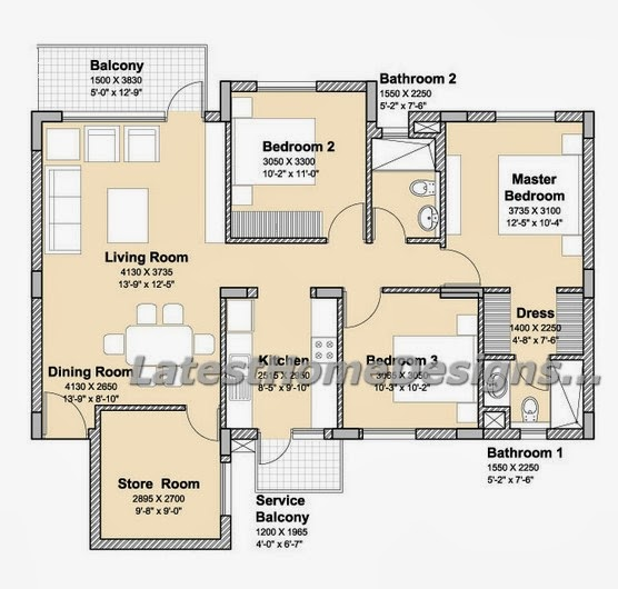 2 Bhk Home Design Ideas: BUAT TESTING DOANG: 3 Bhk Interior Design Projects