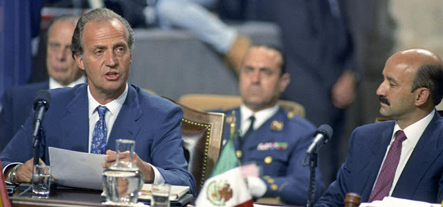 Rey Don Juan Carlos y transicion politica