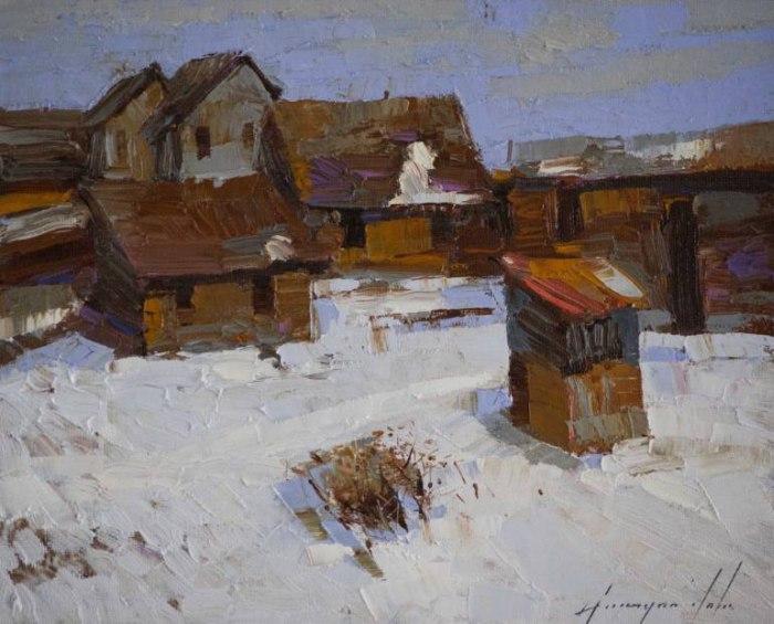 Армянский художник. Vahe Yeremyan