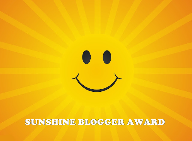 Sunshine Blogger Award - Tagged by Sayidah Napisah