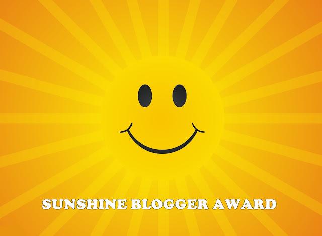 Sunshine Blogger Award - Tagged by Sayidah Napisah