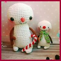 Hombrecitos de nieve