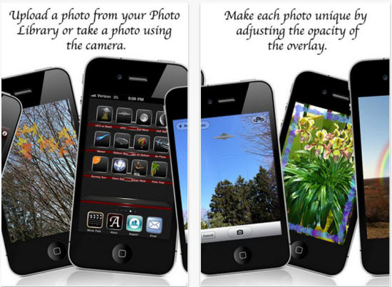 mycamera overlays iPhone app