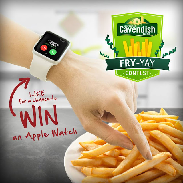 Cavendish Fry-Yay Giveaway