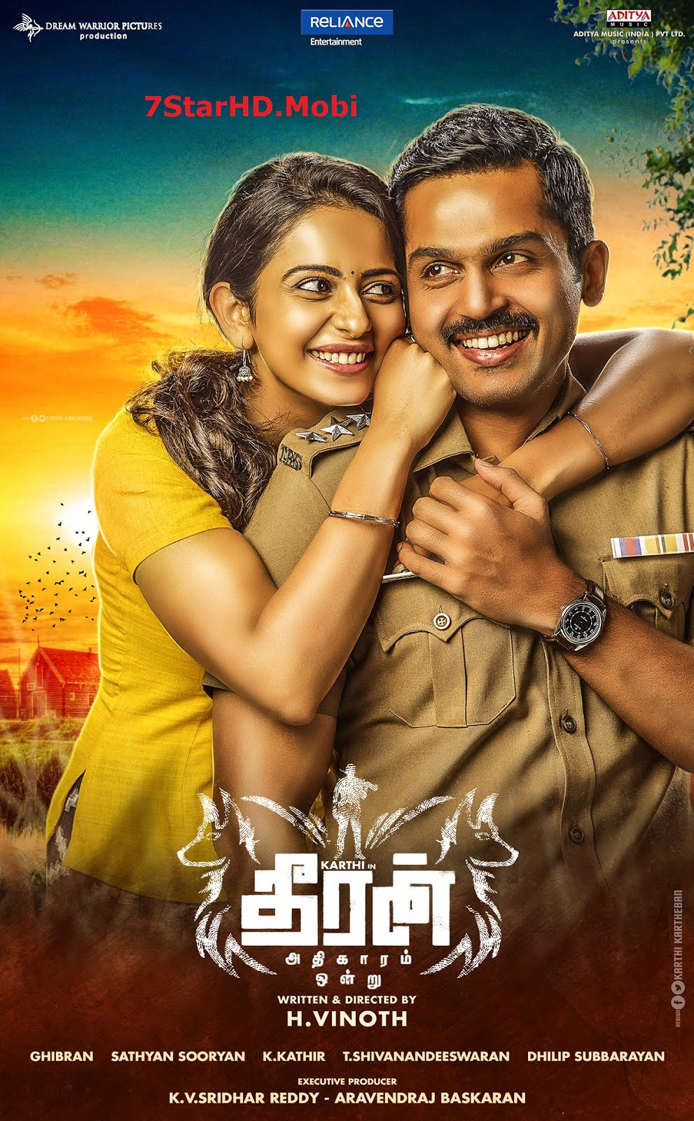 Theeran (Theeran Adhigaaram Ondru) 2018 Hindi Dubbed 1080p HDRip Download