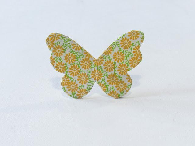 mariposas diy desgastado rustico