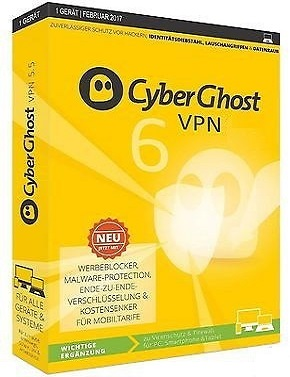 CyberGhost VPN 6.0.8.2959 poster box cover