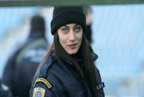 Η αστυνομικός που τρέλαvε το «Kαυτανζόγλειο»