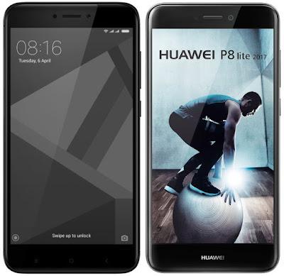 Xiaomi Redmi 4X 32G vs Huawei P8 Lite (2017)