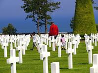 Plages du débarquement cimetière