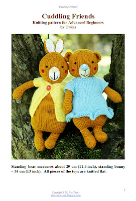 knitted bear, knitted teddy bear, knitted bunny
