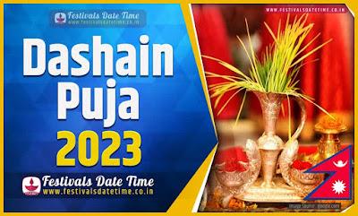 2023 Dashain Date Time, 2023 Dashain Nepali Calendar