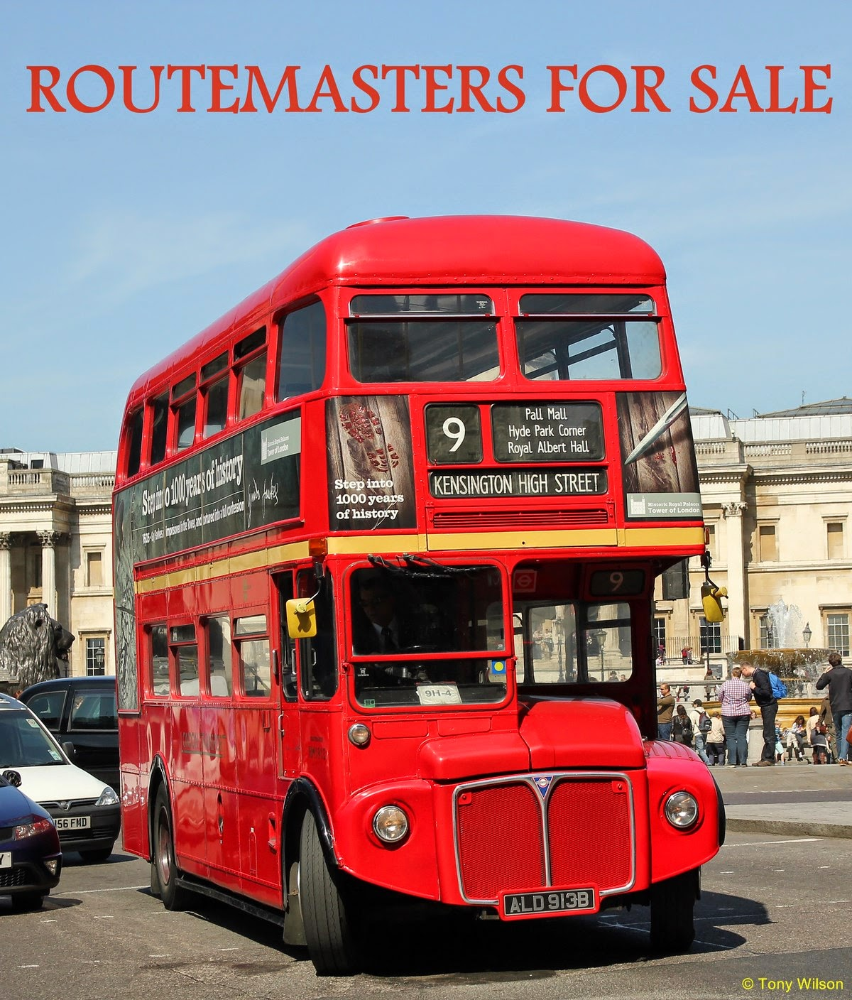 FOCUS TRANSPORT: 'ERE GUV, WANNA BUY A GENUINE LONDON BUS?