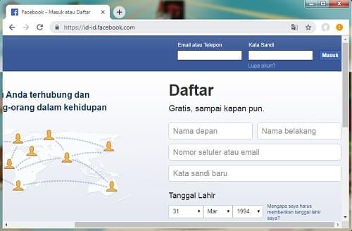 Cara Membuka Banyak Akun Facebook di Google Chrome Secara Bersamaan