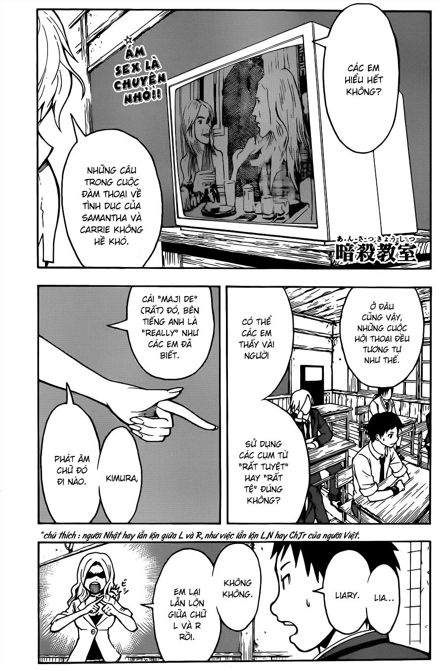 Ansatsu Kyoushitsu chap 25 trang 2