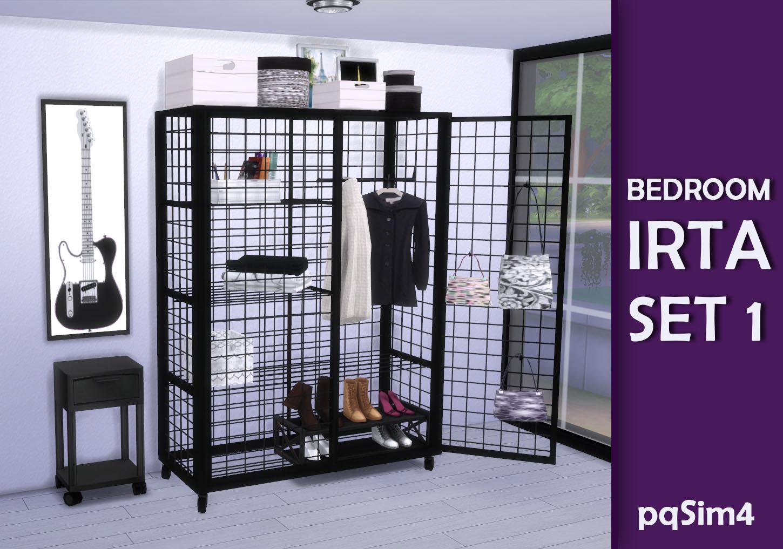 Dormitorio irta set 1 sims 4 custom content for Dormitorio sims 4