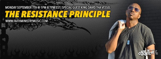 "Not By Bread Alone Radio Presents The ""The Resistance Principle' - 5th Topic of The 8-Week Principle Series."