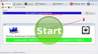 Cara Flashing Menggunakan DFU Tools - Instal Ulang Android