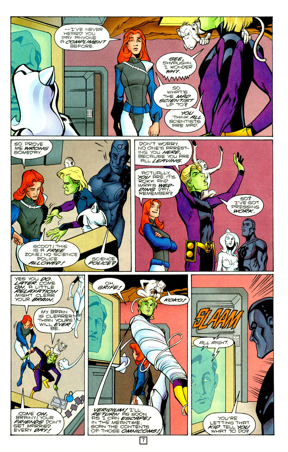 Legion of Super-Heroes (1989) 96 Page 7
