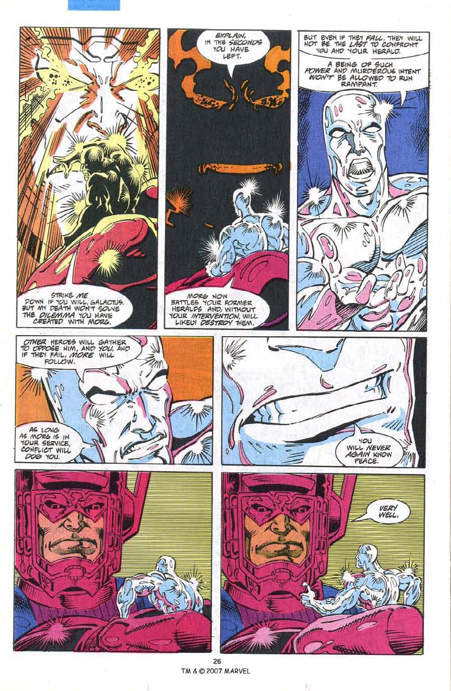 Read online Silver Surfer (1987) comic -  Issue #75 - 28