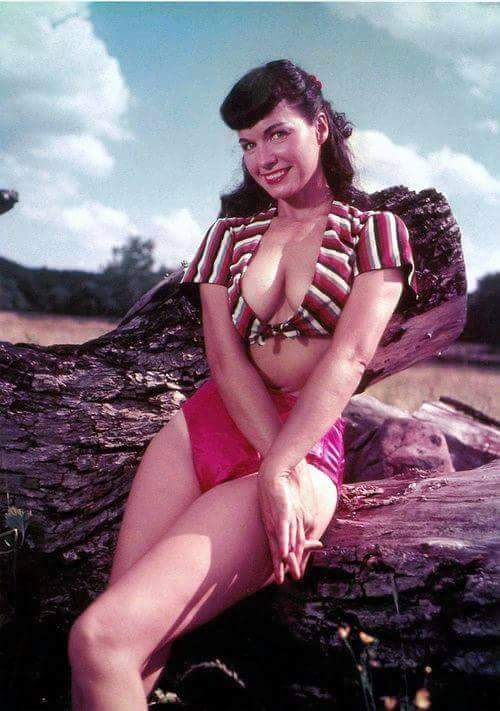 bettie page color # 19