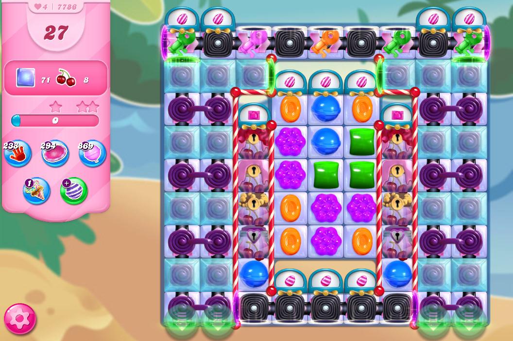 Candy Crush Saga level 7786