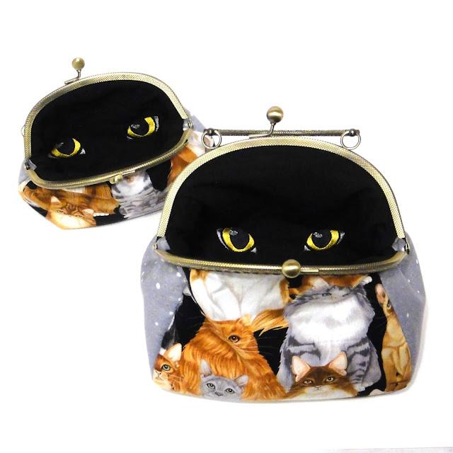 Кошелек монетница и детская сумочка - кошки и котята в подарок дочке. Доставляемся почтой или курьерской службой.