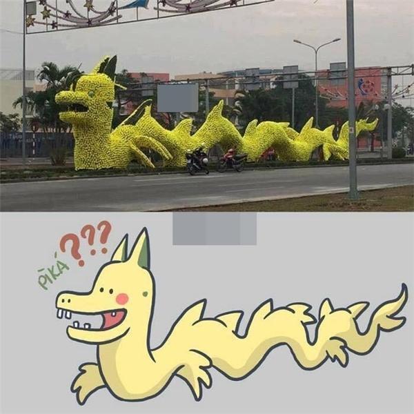Bộ sưu tập ảnh chế rồng pikachu, hình troll hài hay nhất
