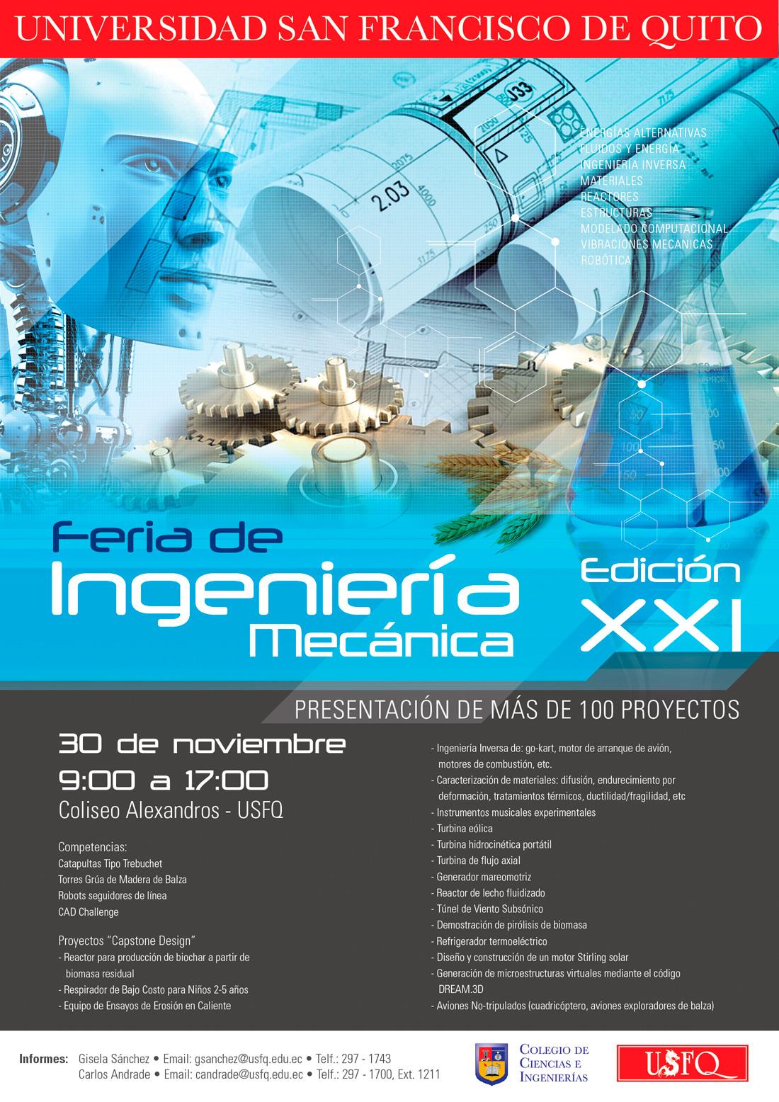 Feria de Ingeniería Mecánica - Edición XXI