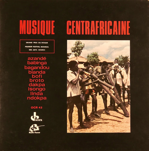 Tribal music from Central African Republic 1962