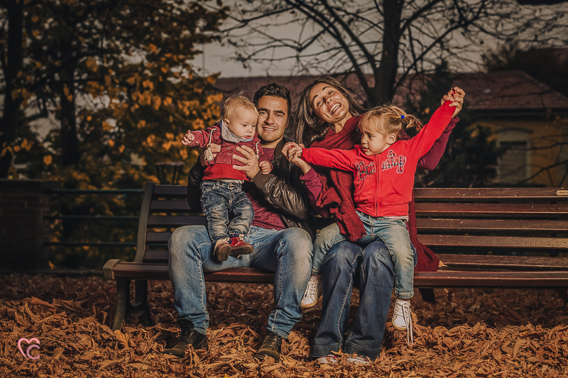 Fall family session Chieri