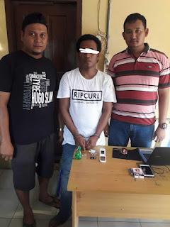 Empat Temannya Berhasil Melarikan Diri Saat di Grebeg Polisi