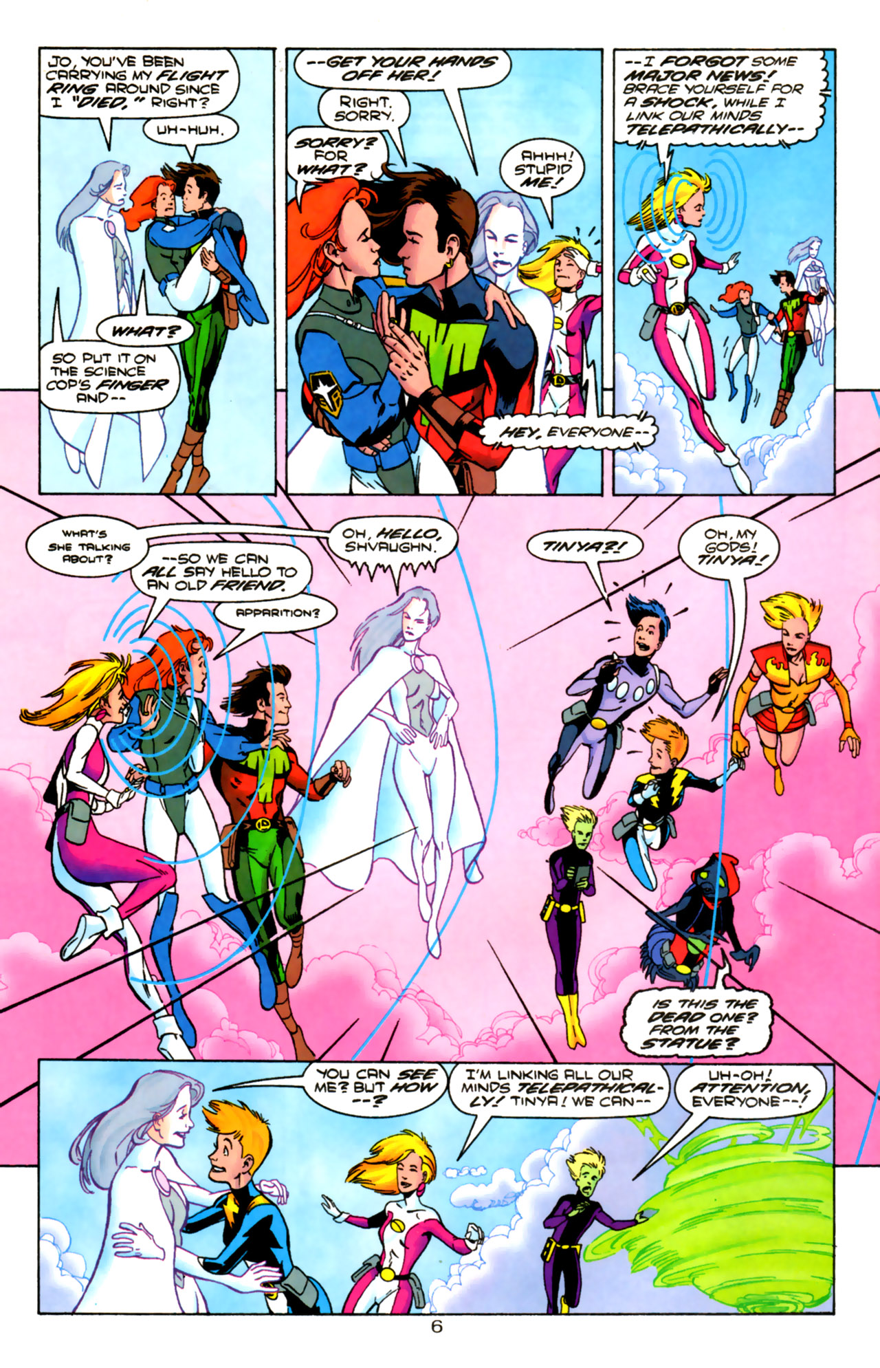 Legion of Super-Heroes (1989) 85 Page 5