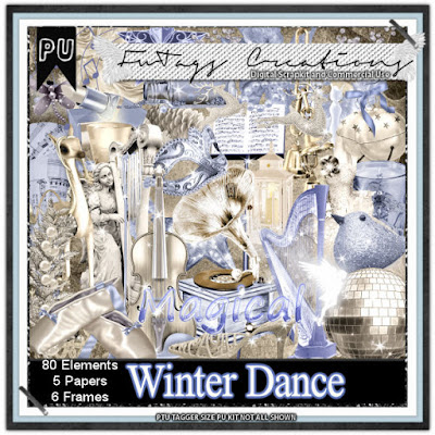 Winter Dance, Scrap kit by Claire Slack aka FwTags