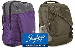 Flat 35% Off on Skybags Backpacks starts Rs.799 @ Flipkart (Limited Period Offer)