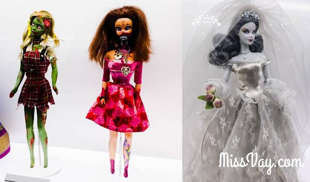Au lancement de l'Expo Barbie #LCMRxBARBIE