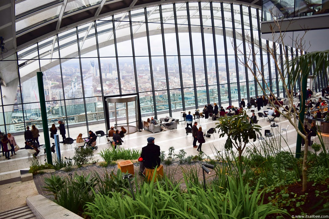 London Rooftop Garden | Breakfast In London's Sky Pod