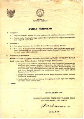 Supersemar dan kebangkitan Soeharto - pustakapengetahuan.com