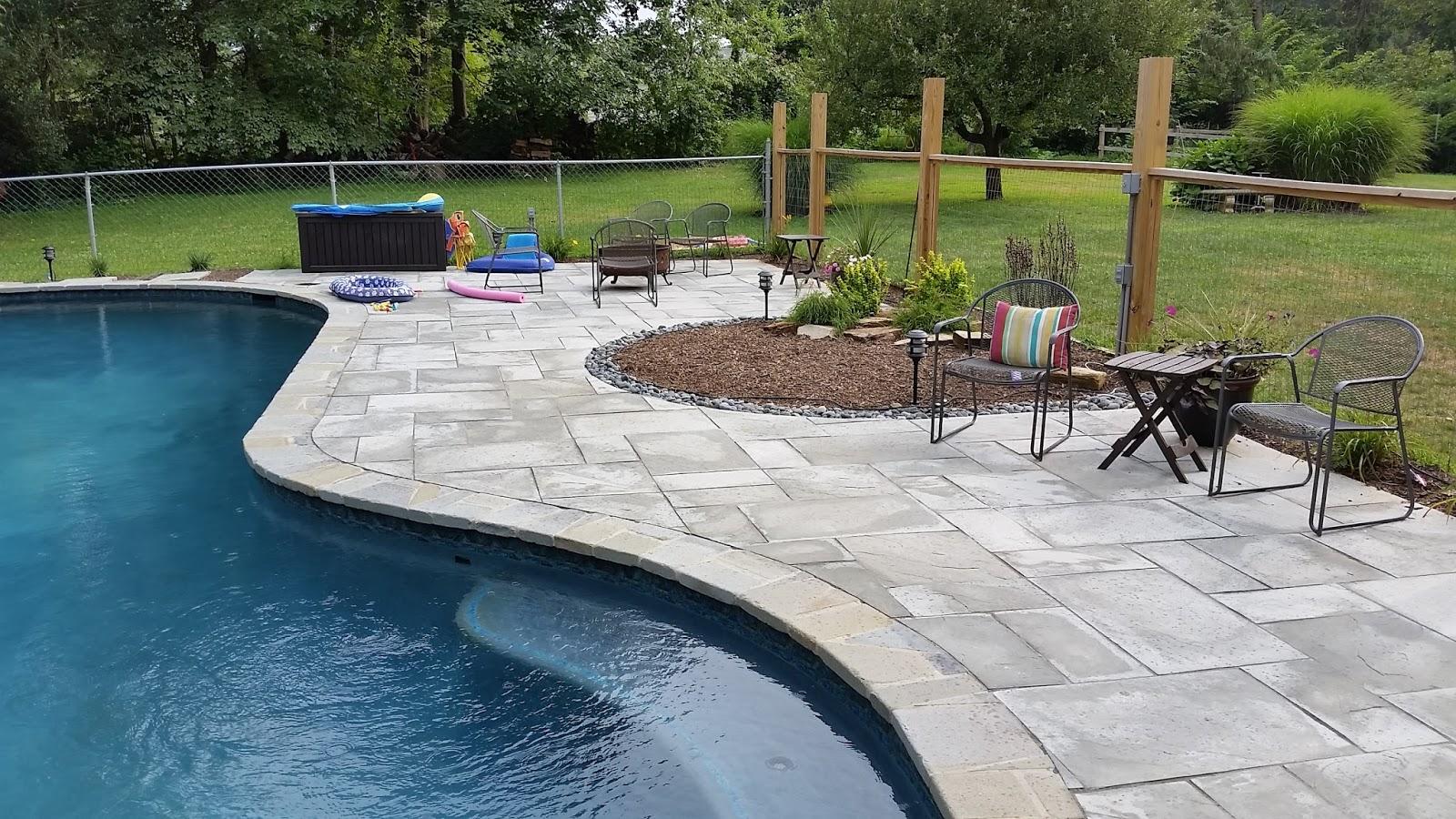 Custom Stoneworks & Design Inc.: Pool pavers installed in ...